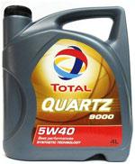 Моторное масло TOTAL Quartz 5W40 для погрузчика и другой техники